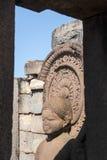 Statua di Lord Buddha in stupa a Sanchi, India Fotografia Stock Libera da Diritti