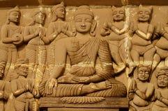 Statua di Lord Buddhas Immagini Stock Libere da Diritti