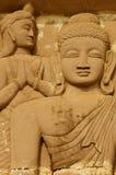 Statua di Lord Buddhas Immagini Stock