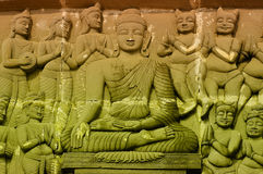 Statua di Lord Buddhas Fotografia Stock Libera da Diritti