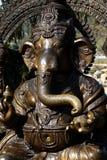 Statua di Lord Ganesha - dio dell'elefante di hinduism immagini stock