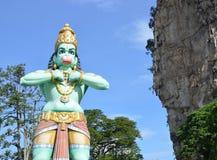 Statua di Lord Hanuman alle caverne di Batu Immagine Stock Libera da Diritti