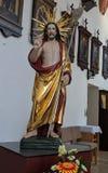 Statua di Lord Jesus fotografie stock libere da diritti