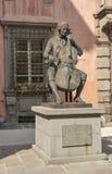 Statua di Luigi Boccherini a Lucca, Italia Fotografia Stock