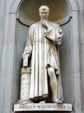 Statua di Machiavelli fotografia stock