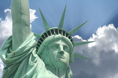 Statua di Magestic di libertà Fotografia Stock Libera da Diritti