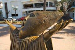 Statua di Malecon fotografia stock libera da diritti