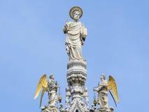 Statua di Marc santo Fotografie Stock Libere da Diritti