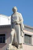 Statua di Marco Polo fotografie stock
