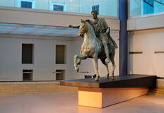Statua di Marcus Aurelius, Roma Immagine Stock Libera da Diritti