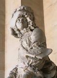 Statua di marmo al palazzo di Versailles Fotografia Stock Libera da Diritti