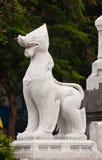 Statua di marmo del leo Immagine Stock Libera da Diritti