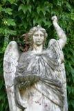 Statua di marmo di angelo Fotografie Stock Libere da Diritti