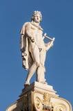 Statua di marmo di Apollo Fotografia Stock