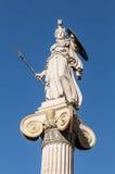 Statua di marmo di Atena Fotografia Stock Libera da Diritti