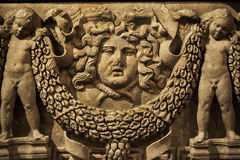 Statua di marmo di età antica immagini stock