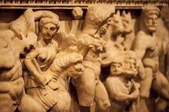 Statua di marmo di età antica fotografia stock libera da diritti