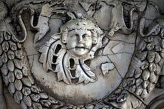 Statua di marmo di età antica fotografia stock