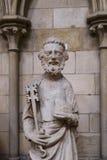 Statua di marmo di St Peter Fotografie Stock Libere da Diritti