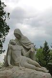 Statua di Mary e di Jesus Fotografia Stock Libera da Diritti