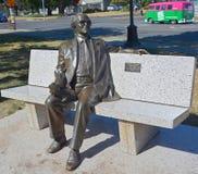 Statua di Michael Collard Williams Fotografia Stock