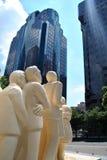 Statua di Montreal Fotografie Stock