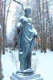 Statua di Muse Flore fotografia stock