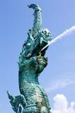 Statua di Naka della Tailandia Fotografie Stock