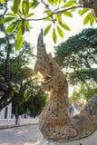 Statua di Naka nel nordico della Tailandia Immagine Stock