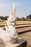 Statua di Naka in tempio tailandese Fotografie Stock