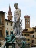 Statua di Nettuno Fotografia Stock