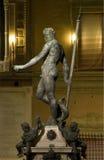 Statua di Nettuno, Bologna Italia illustrazione di stock