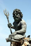 Statua di Nettuno in Virginia Beach Immagini Stock Libere da Diritti