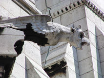 Statua di Notre Dame Fotografie Stock