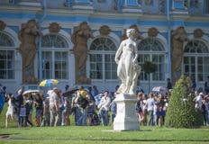 Statua di pace in Catherine Park immagine stock libera da diritti