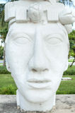 Statua di Pakal Fotografia Stock Libera da Diritti