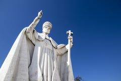 Statua di Papa Pio XII immagine stock libera da diritti