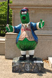 Statua di Philadelphia Phillies Phanatic Fotografia Stock