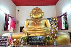 Statua di Phra Sungkhajai monaco santo di passione il grande nel buddismo a fotografia stock libera da diritti