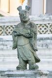 Statua di pietra a Bangkok, Tailandia Fotografie Stock Libere da Diritti