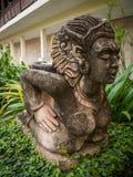 Statua di pietra, Tailandia Immagine Stock Libera da Diritti