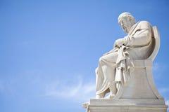 Statua di Platone fotografie stock