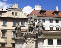 Statua di Praga fotografia stock