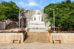 Statua di Rambadagalla Samadhi Buddha Immagini Stock Libere da Diritti
