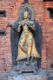 Statua di rame Immagine Stock Libera da Diritti