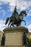 Statua di re Luigi I di Baviera Immagine Stock Libera da Diritti