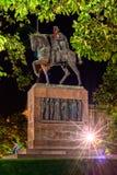 Statua di re Tomislav Immagini Stock
