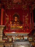 Statua di risata di Buddha in Cina fotografia stock