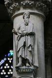 Statua di Saint Paul o di Paulus immagini stock libere da diritti