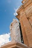 Statua di Saint Paul a Rabat Fotografia Stock Libera da Diritti